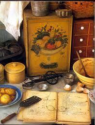 Tasha Tudor kitchen