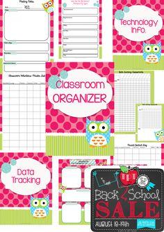 Classroom Organizers, www.teacherspayteachers.com/Store/A-Modern-Teacher, $
