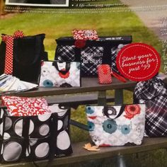 NEW Fall 2012 New Consultant Start-up kit from Thirty-one!  Ask ME HOW!