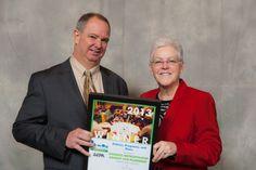 CMAP executive director Randy Blankenhorn with EPA Administrator Gina McCarthy.