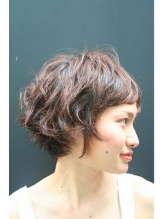 Inspiration to grow my hair out. Never had short bangs like that, so maybe when it's this length do that?