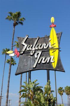 Retro signage in LA