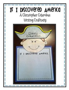 FREE If I Discovered America...A Christopher Columbus Writing Activity for free download