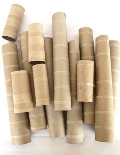 Cardboard tube summer crafts- some really fun ideas