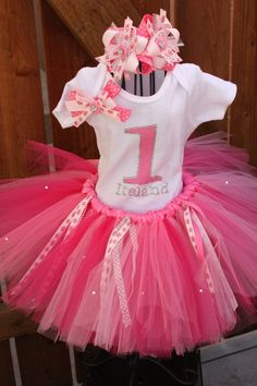 Tutu Party Theme - but not for 1 year old... tutu's are so much better when the little girl can walk around...