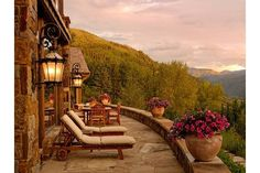 """The view from Aspen's """"billionaire mountain."""""""