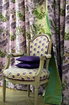 Manuel Canovas - New Collection .Manuel Canovas fabrics available through Jane Hall Design