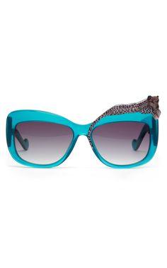 Anna-Karin Karlsson: Turquoise Rose et la Mer Sunglasses