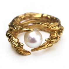 The Pearl of London Ring | Tessa Metcalfe Jewellery