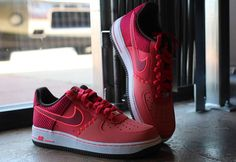 Nike Air Force 1 Low Fushion Red