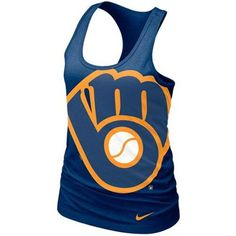 The weather is heating up! Stay cool in this #Brewers tank.