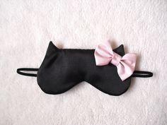 Big Bow Cat Sleep Eye Mask