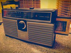 Panasonic 8-track tape player. Vintage