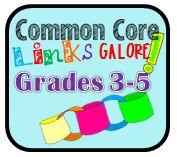 common core links galore .... new common core links website