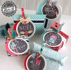 Embellished Treat Packages by Betsy Veldman for Papertrey Ink (September 2014)