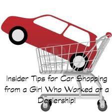 insider tips for car shopping