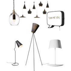 Norwegian Design - Lamps