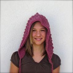 FREE bobble hood crochet pattern   YouCanMakeThis.com
