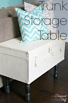 Trunk Storage Table  @ A Diamond in the Stuff