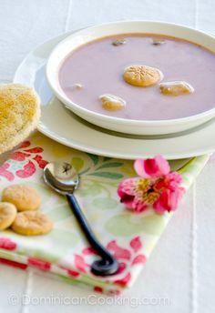 recipe for my favourite Dominican dessert Habichuelas con dulce