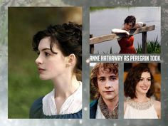 Gender Swapped Lord Of The Rings Casting Is Perfection Anne Hathaway as Peregrin Took THIS IS AWESOME!