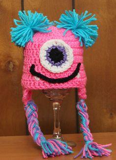 Sweet Little Monster Crochet Hat