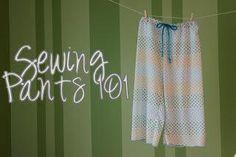 pajamas, sew pajama, sewing tips, diy cloth, pant 101, sew pant, pajama pants, christma, sew kids