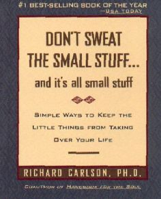 Great book with great advise. One of my favorite self help books.
