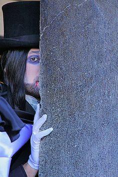 The shy vampire