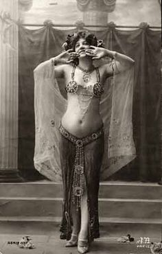 Vintage erotica belly dance costumes, belli dancer, vintage photographs, vintag belli, vintag photo, beauti, art deco, mata hari, bellyd