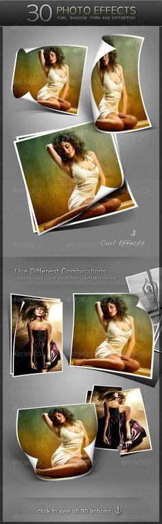 Photoshop photo effects