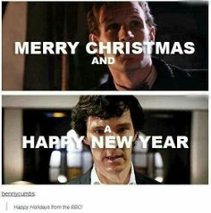 Happy holidays from the BBC! Ahhh this makes me excited and sad at the same time :/