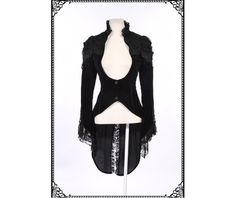 Gothic Victorian Tail Coat-Jackets