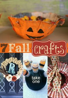 7 Fall Crafts for the Home and the Kids