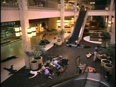 DAWN OF THE DEAD (1978) - Funny as hell with some great bad acting and a whole lot of stumbling zombies! Following an ever-growing epidemic of zombies that have risen from the dead, two Philadelphia SWAT team members, a traffic reporter, and his television-executive girlfriend seek refuge in a secluded shopping mall. Whatever you do, don't go shopping...Directed by George A. Romero