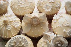 . vintage weddings, decorated cupcakes, wedding cupcakes, holiday cupcakes, white, wedding cakes, wedding cup cakes, vintage inspired, bridal showers