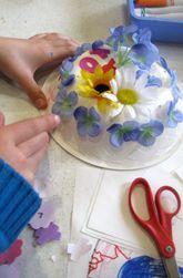 Make Paper Bowl Hats for Easter