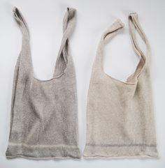Linen Shopping Bags by Eccomin