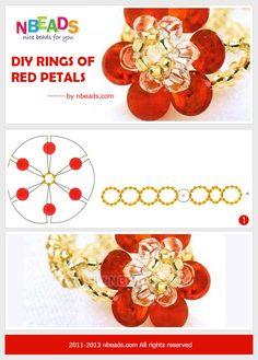make beaded ring