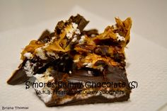 "S'mores Skinny Chocolate (S) - aka ""marshmallow-ey goodness"""