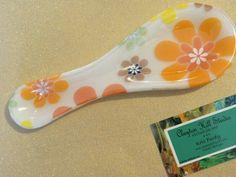 Flower Power Spoon rest