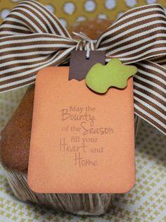 DT Post by Gwen - Pumpkin Bread Tag!