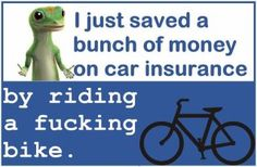 The only real way to save on car insurance