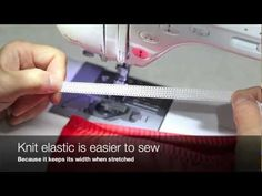 Sewing Techniques - How to Sew Elastics