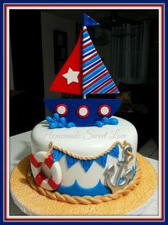 cupcak, boy cake, nautical cakes, nautic cake, children cake, sweet cakes