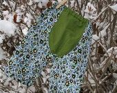 Medium Linen and Cotton Floral Big Butt Baby Pants /3-6 months/ by Lagamorphlounge on Etsy. $16.00