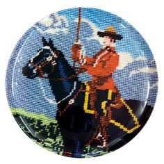 Mounty Plate, $16, now featured on Fab.