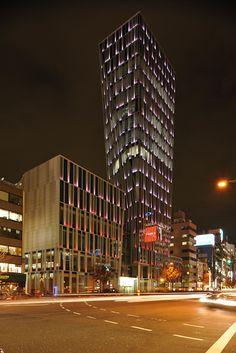 Ao building Omotesando Tokyo.