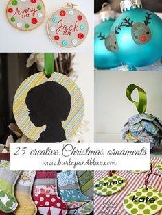 25 creative handmade ornaments