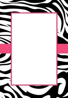 Free Printable Zebra Stripes Invitation free zebra party printables, onlin parti, zebra birthday printables, receiv free, free zebra invitations, party invitations, parties, zebra stripes, free zebra printables